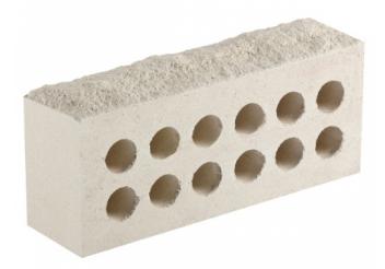 (Белый) Облицовочный кирпич «Литос» скала
