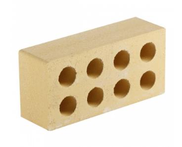 (Желтый) Облицовочный кирпич «Литос» гладкий