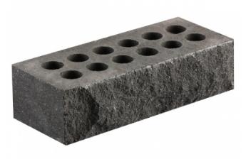 (Серый) Облицовочный кирпич «Литос» скала