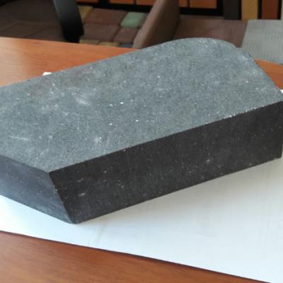 (Серый) Облицовочный кирпич Land brick угловой полнотелый